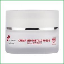 Κρέμα προσώπου κράνμπερι- Accademia della Bellezza Crema Viso Mirtillo 50ml