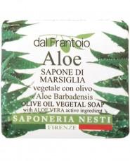 Σαπούνι με αλόη- Saponeria Nesti Sapone di Marsiglia Aloe 100gr