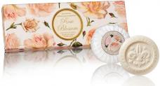 Σαπούνι με άνθη τριαντάφυλλου 3x100gr- Saponificio Artigianale Fiorentino