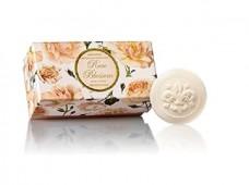 Σαπούνι με άνθη τριαντάφυλλου 6x50gr- Saponificio Artigianale Fiorentino
