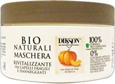 Αναζωογονητική μάσκα μαλλιών με κολοκύθα- Dikson Maschera Rivitalizzante 250ml