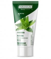 Κρέμα χεριών με αλόη- Farmaline Hand Cream Aloe Vera 75ml