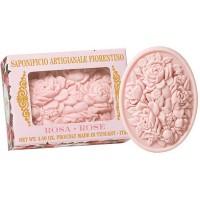 Σαπούνι με ροζ τριαντάφυλλο 125gr- Saponificio Artgianale Fiorentino