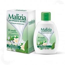 Υγρο καθαρισμού για την ευαίσθητη περιοχή με πράσινο τσάι- Malizia Refreshing Intimate Wash 200ml