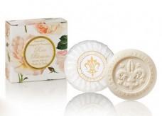 Σαπούνι με άνθη τριαντάφυλλου- Saponificio Artigianale Fiorentino 100gr