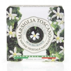 Σαπούνι white musk- Saponeria Nesti Marsiglia Toscano Muschio bianco 200gr